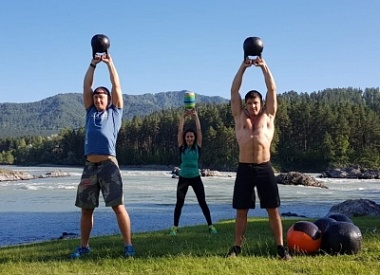 Altai CrossFit Travel